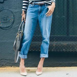 Ann Taylor Loft boyfriend style jeans 2